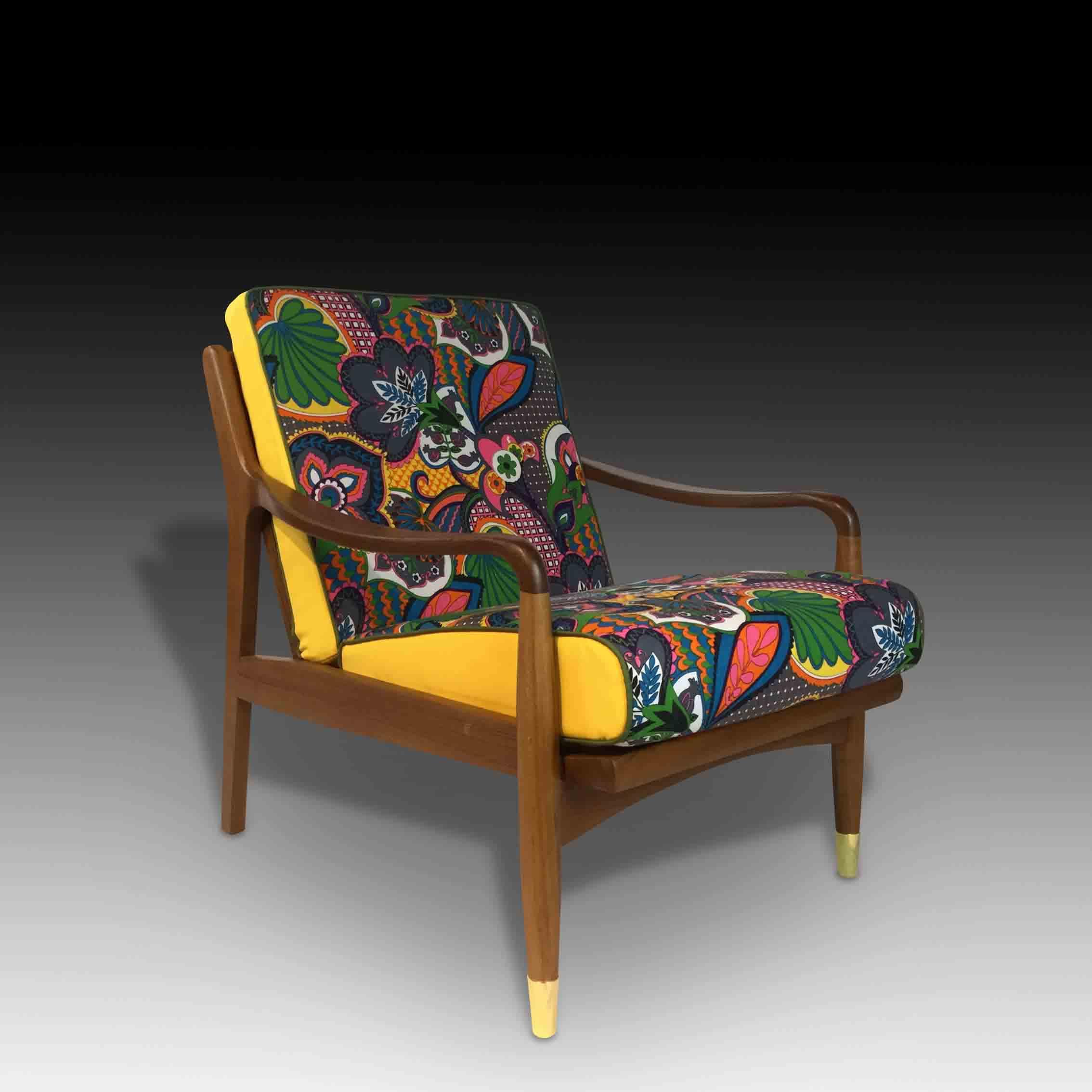 Batik armchair