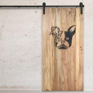 Boston Charred Barn Door