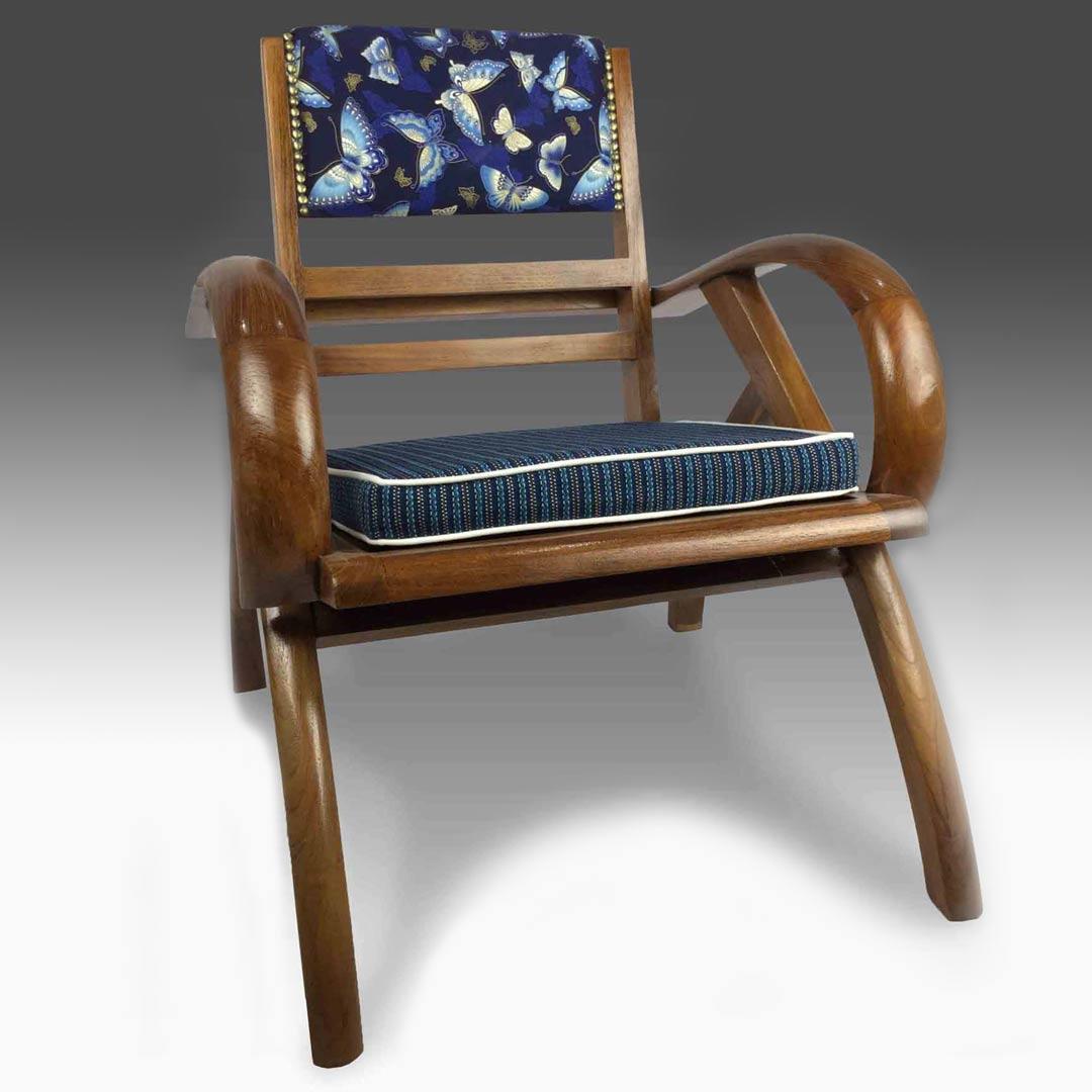 Adriel wooden armchair
