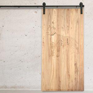 Pitbull Natural Barn Door