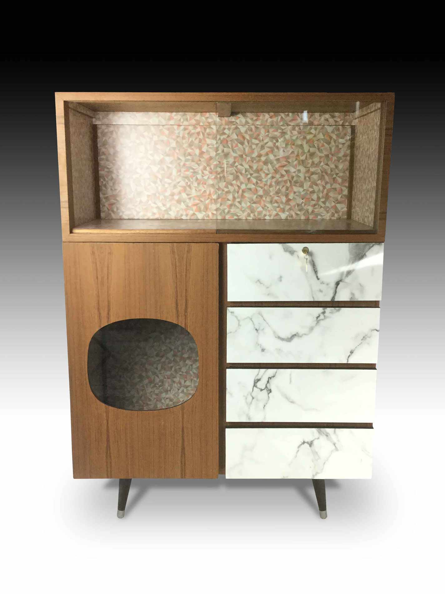 Kennedy cabinet retro collection