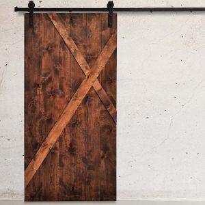 Smoke X Panel Barn Door