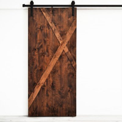 The Smoke Panel Barn Door 2