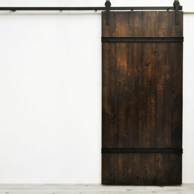 The Smoke panel barn door