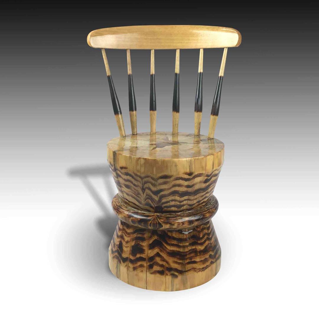 Zen furniture hourglass organice chair