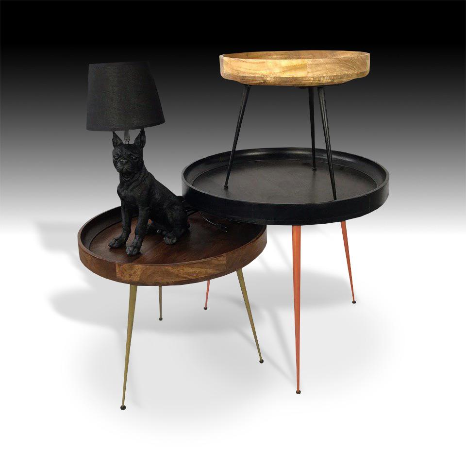 Jupiter Coffee Table Set with Doggo Lamp
