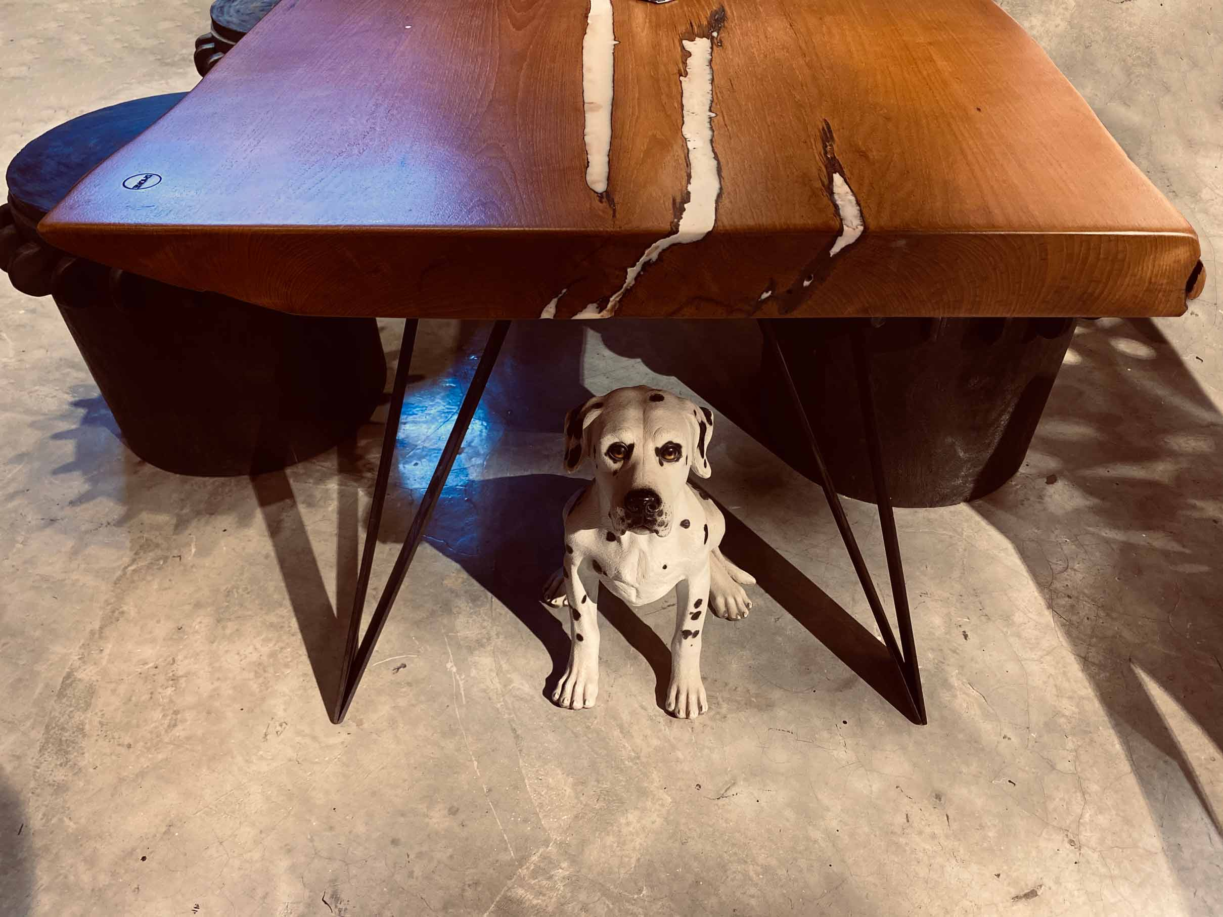 handcrafted furniture Singapore garfunker dining table