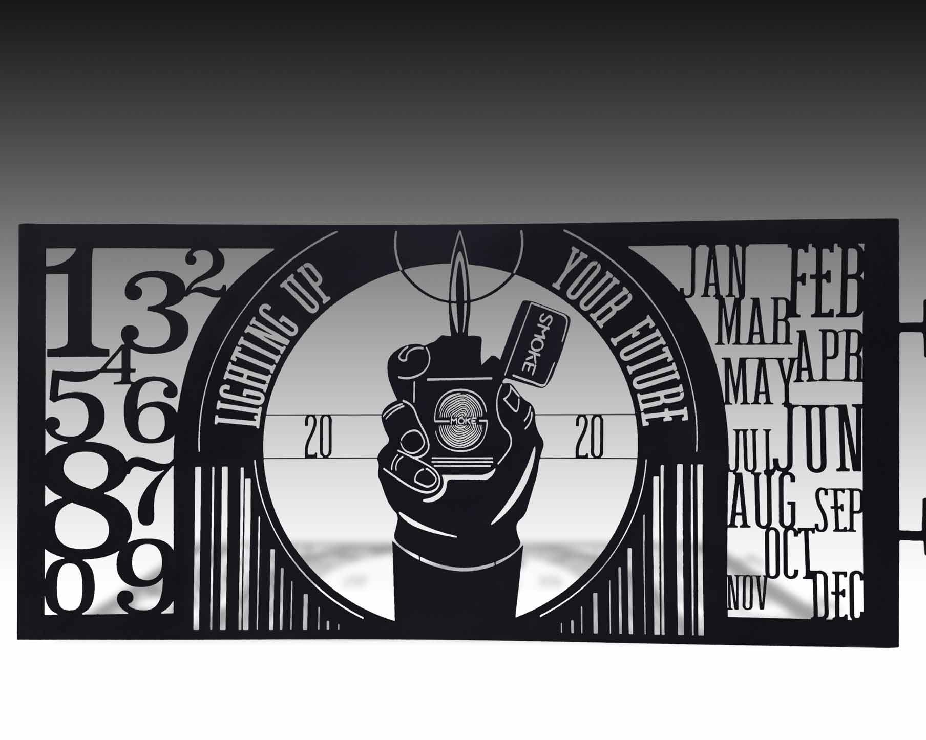 ligthing-up-your-furture metal signage