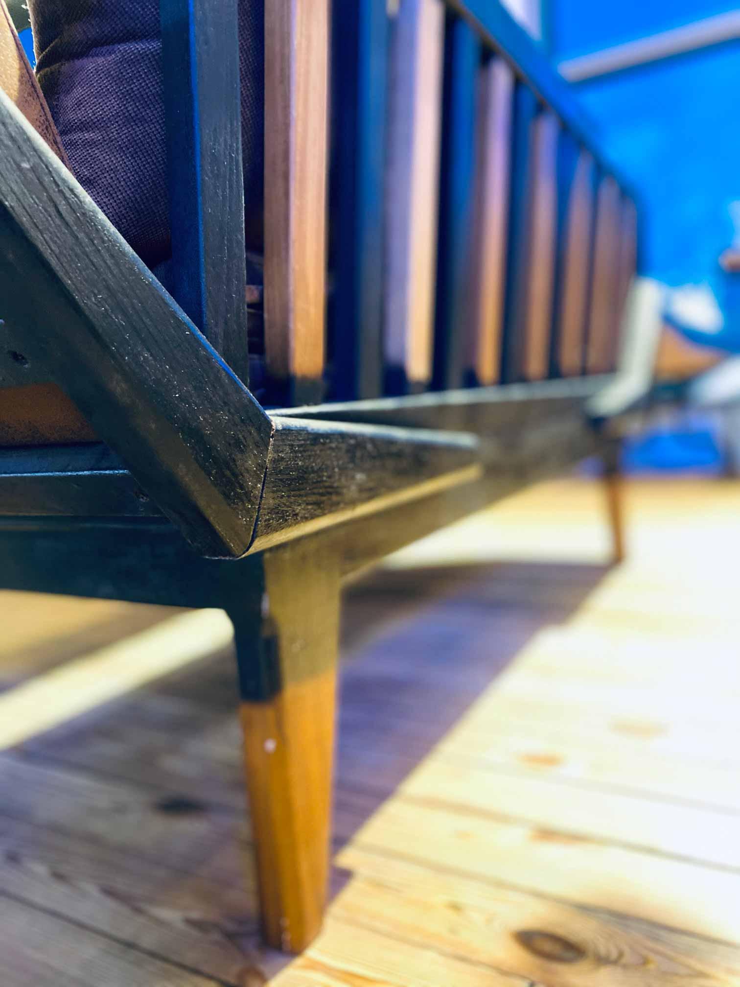 Handcrafted Furniture Back Sofa Detailing