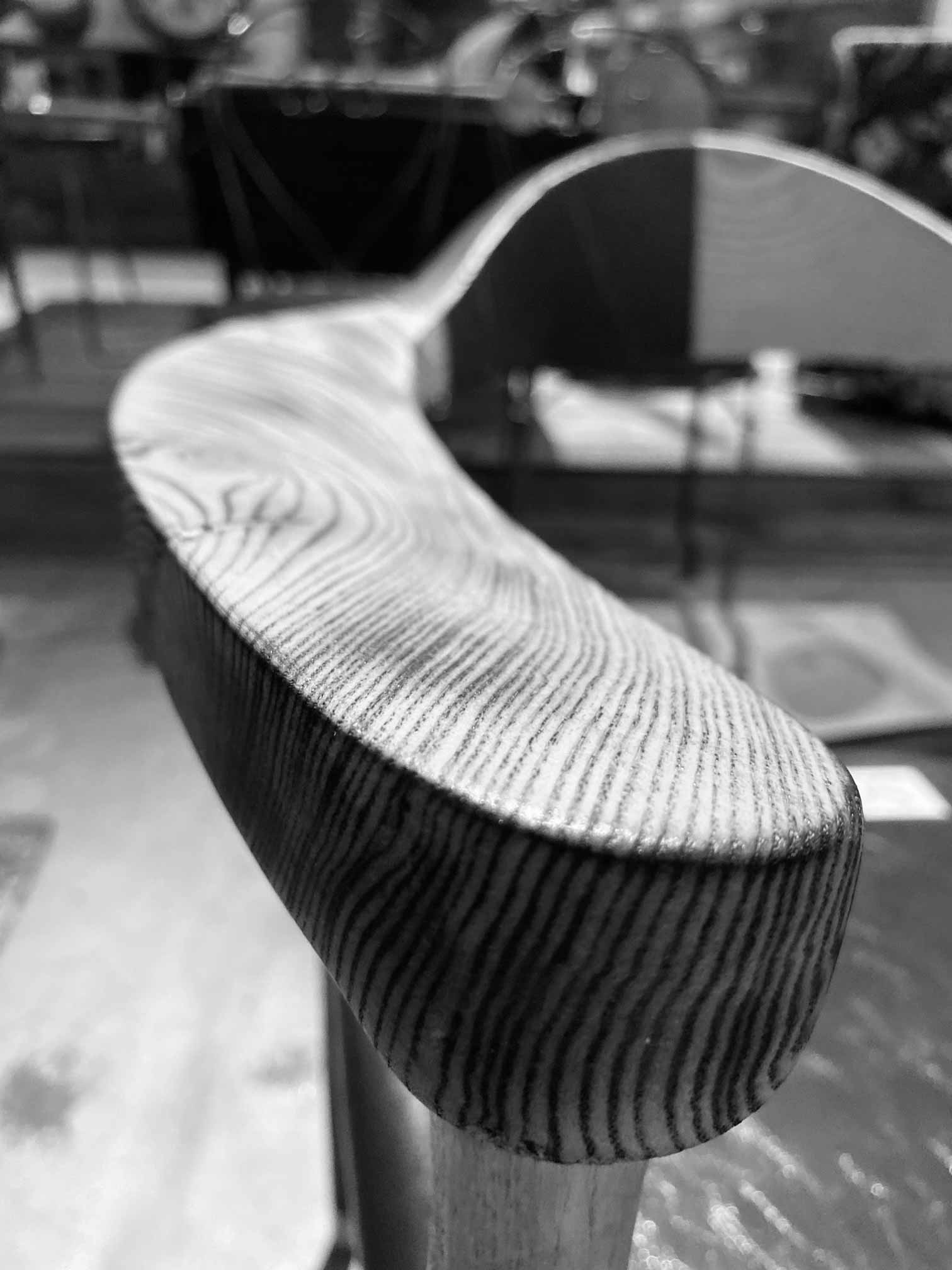 Handcrafted Furniture wood upclose