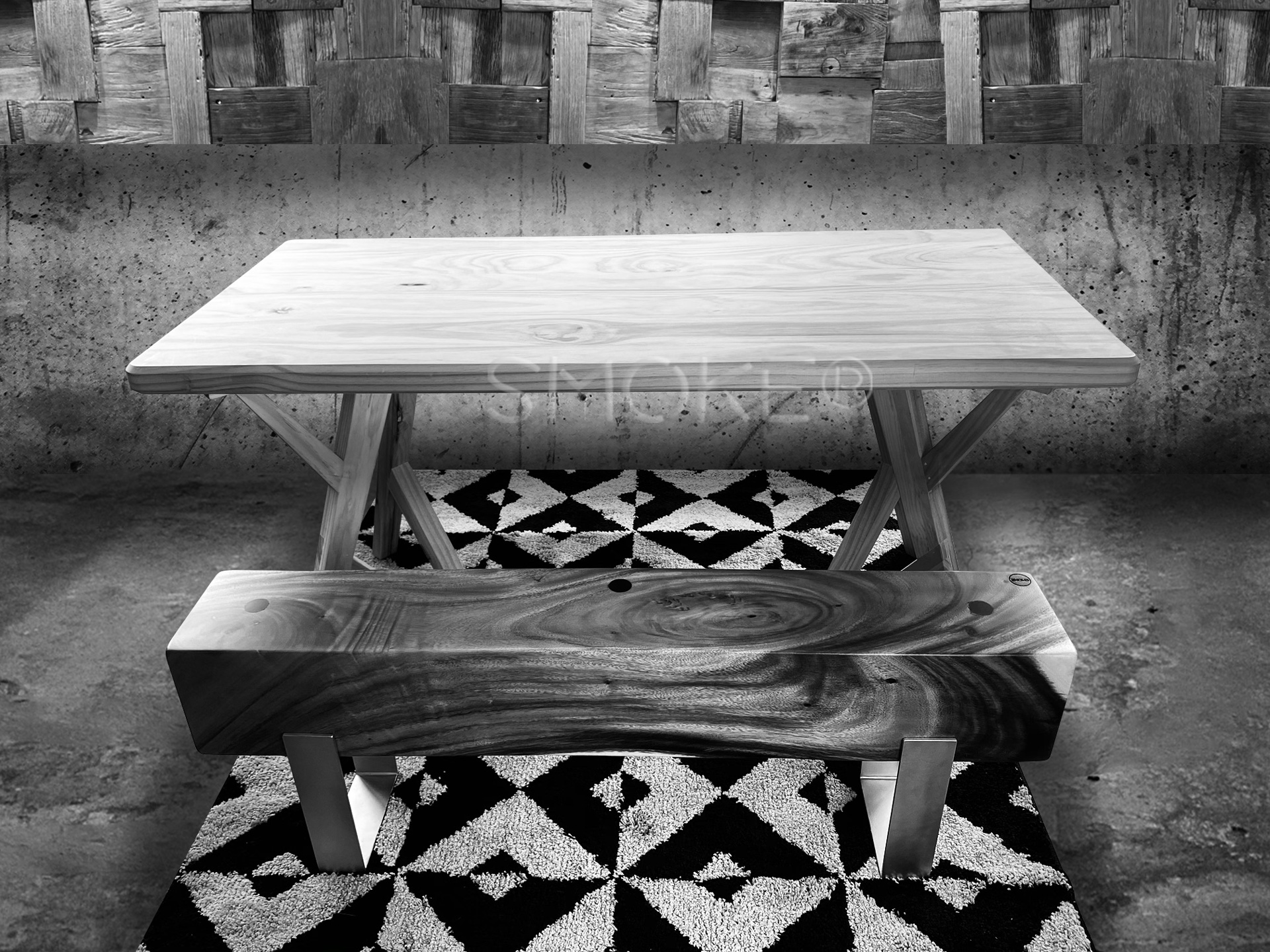 Jefferson wooden Dining Table