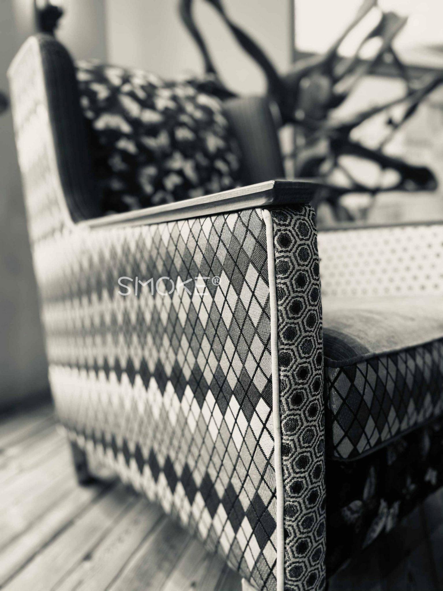 Karin armchair smoke with watermark