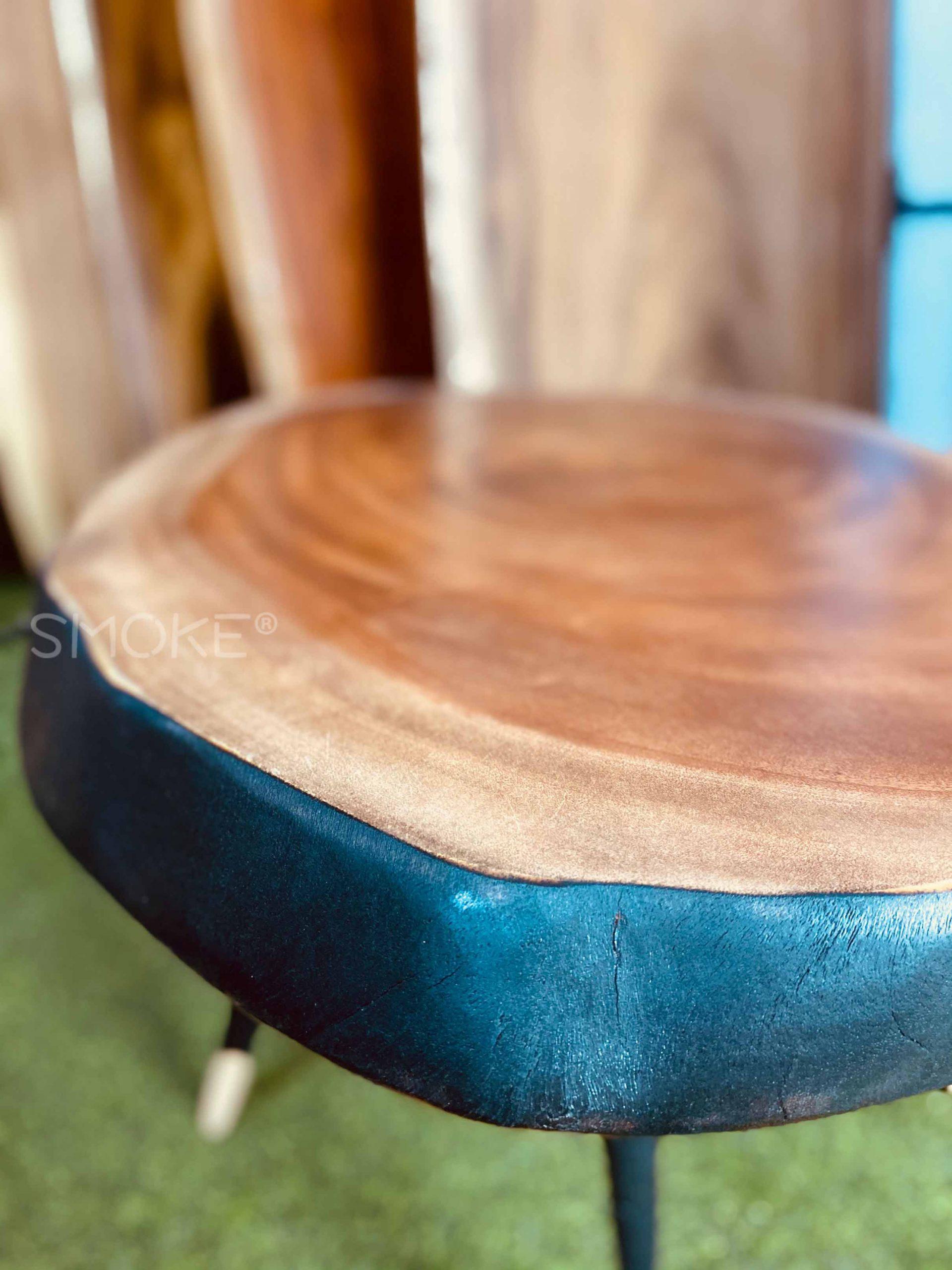 Mahogany coffee table charred zoom