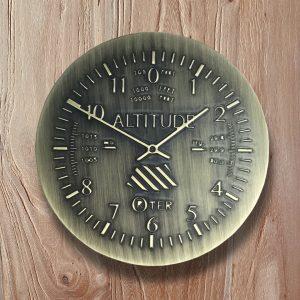 Altimeter barn door knob