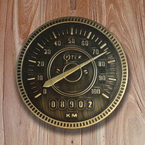 Speedometer barn door knob