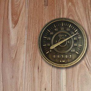 'Speedometer' Engraved Barn Door Metal Knob