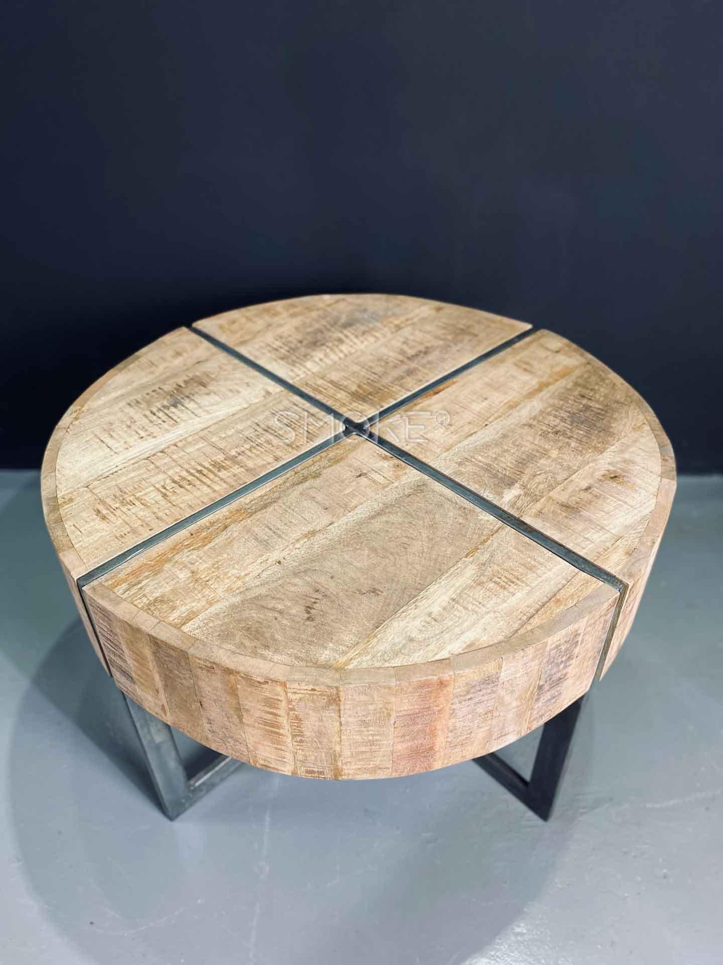 veena wooden coffee table